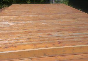 patio bois teint entretien