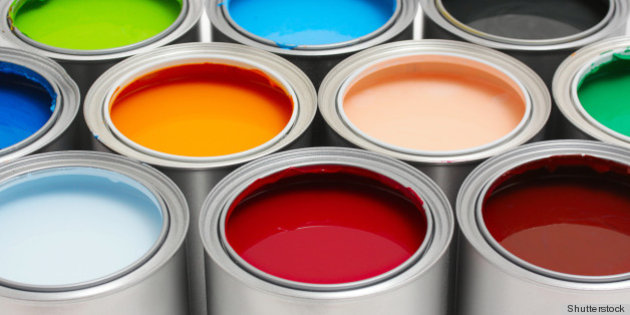 pots peinture recyclee