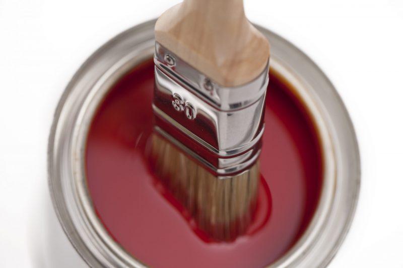 Pinceau de peinture