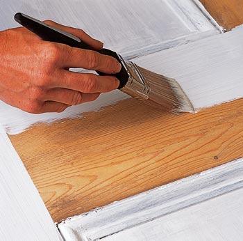 Peinture Du Bois Comment Faire ÉcoPeinture - Peindre une porte en bois