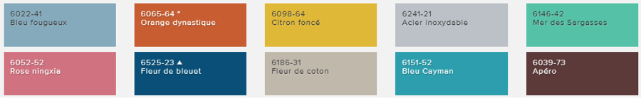 Tendances Couleurs 2015