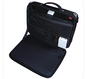 Intérieur sac à l'énergie solaire pour ordinateur portable