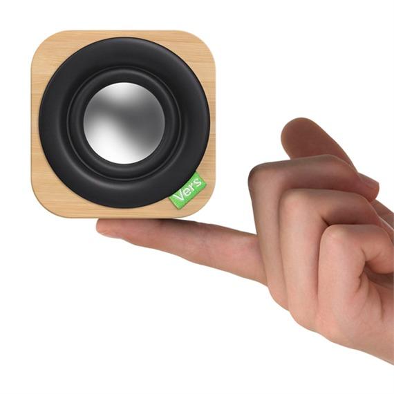 Haut-parleur Bluetooth en bambou poids