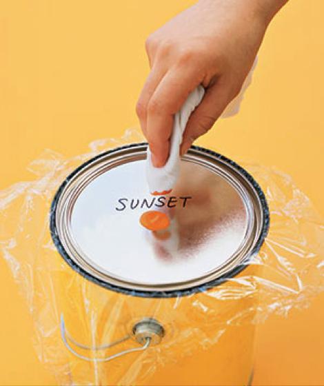 Identification des pots de peinture