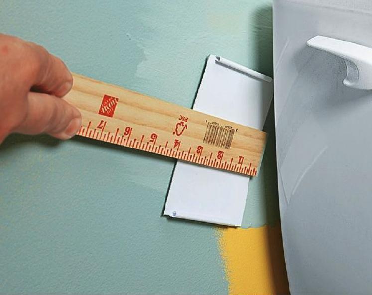 Tampon pour atteindre les endroits restreints en peinture