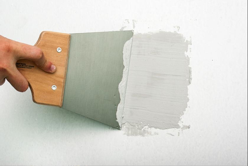 réparation trous - peinture intérieur