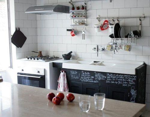 Armoires de cuisine style tableau