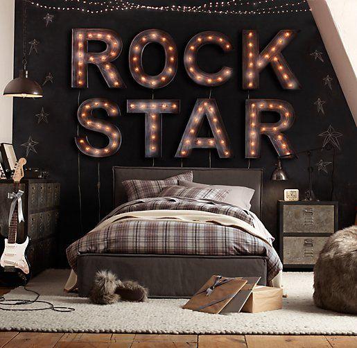 chambre rockstar