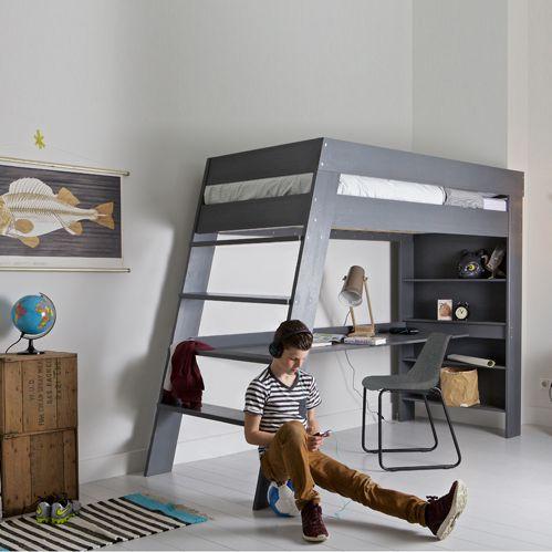 Style de lit deux étages