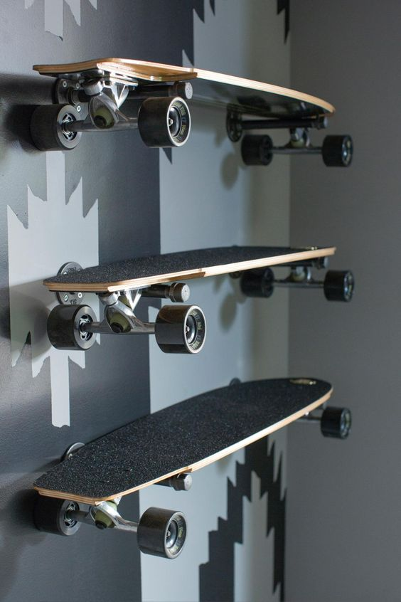 Tablettes skateboard