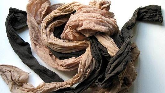 recyclage des bas culotte