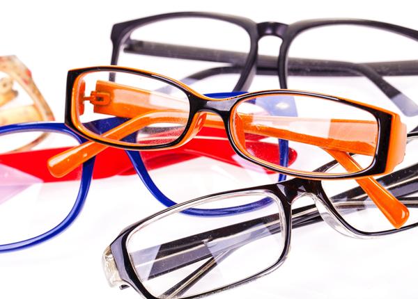 recyclage des lunettes usagées