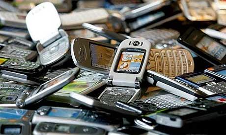 recyclage de vieux cellulaires
