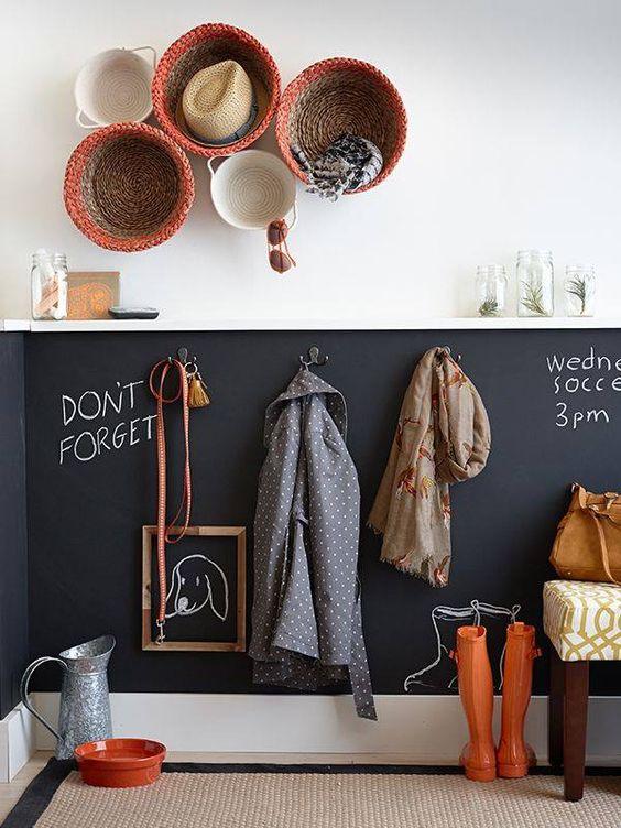liste d id es pour am nager votre hall d entr e co peinture. Black Bedroom Furniture Sets. Home Design Ideas