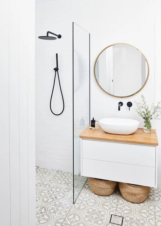 decor minimaliste salle de bain