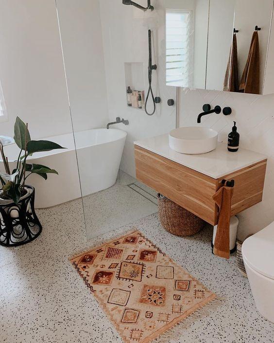 terrazzo grande tuiles salle de bain