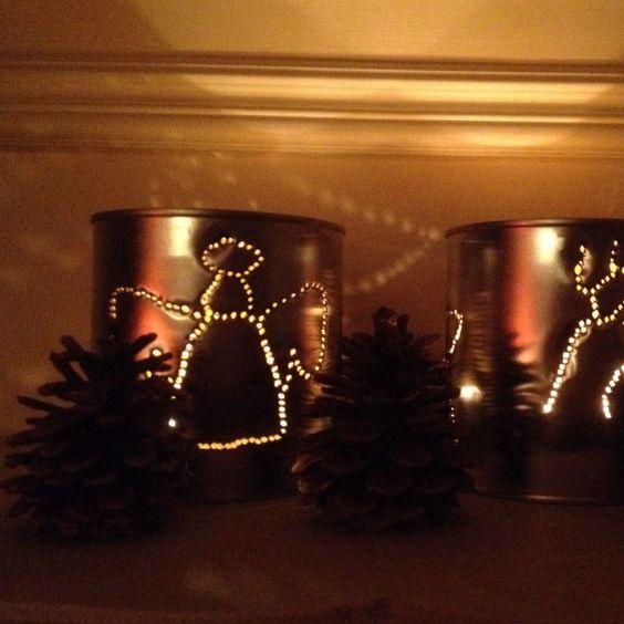 Pot de peinture lanterne