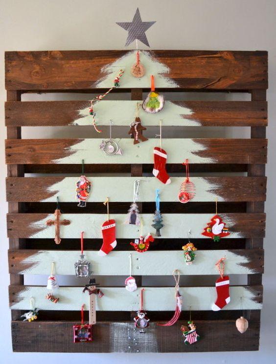 Arbre de Noel en palette bois