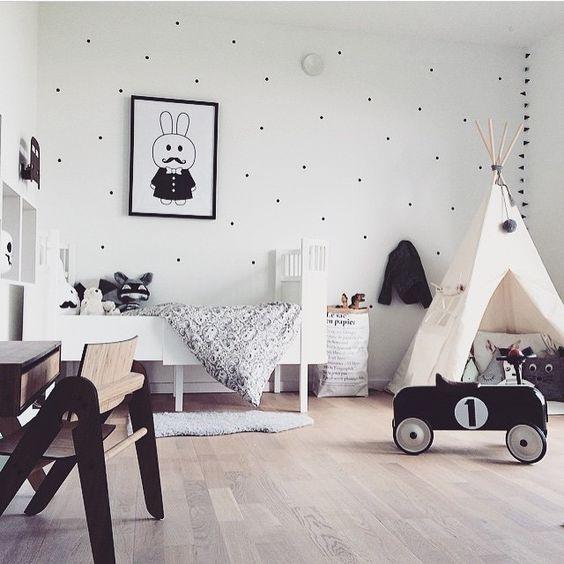 Chambre d'enfant : 5 formes à peinturerpour réinventer facilement un décor
