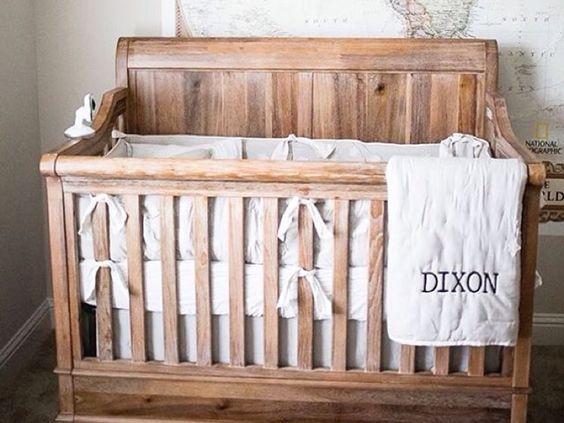 bassinette en bois