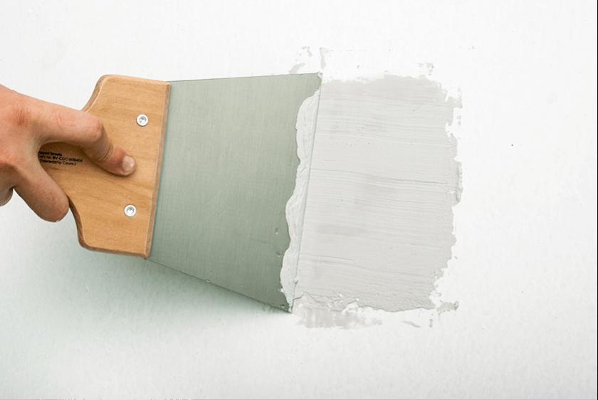 Préparer un mur pour la peinture