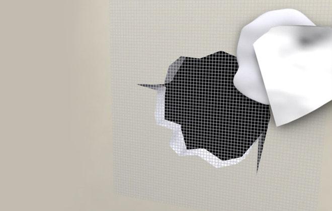 reparer un trou mur