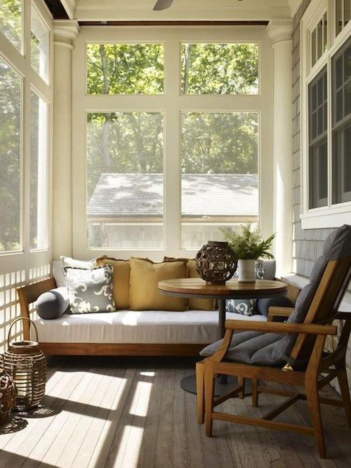 banc de veranda en bois
