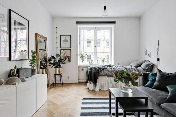 agrandir une petite pi ce 5 astuces pour d corer un petit espace co peinture co peinture. Black Bedroom Furniture Sets. Home Design Ideas