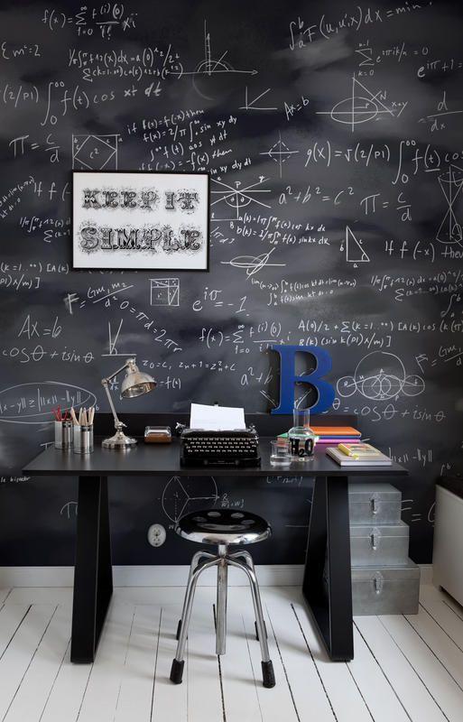 peinture tableau mur entier bureau