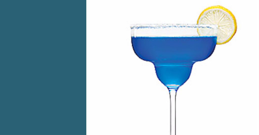 cocktail original bleu azur