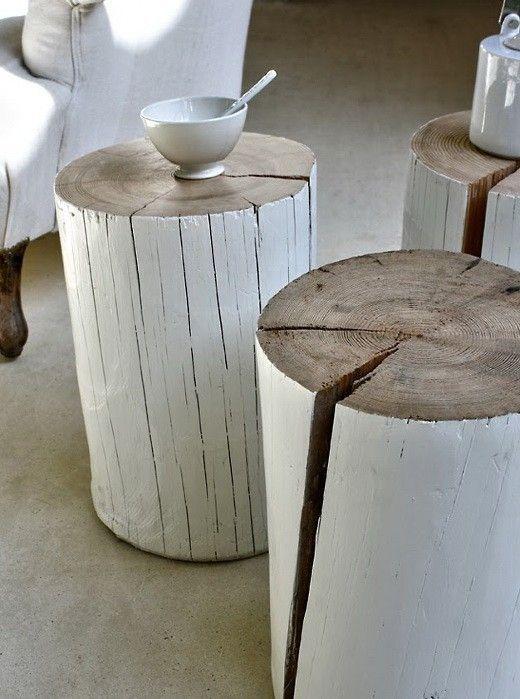 table buche bois