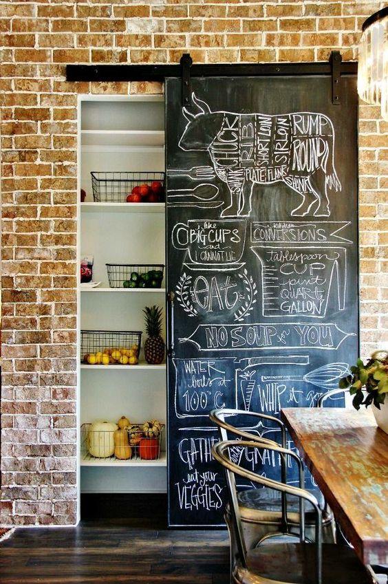 peinture tableau porte cuisine
