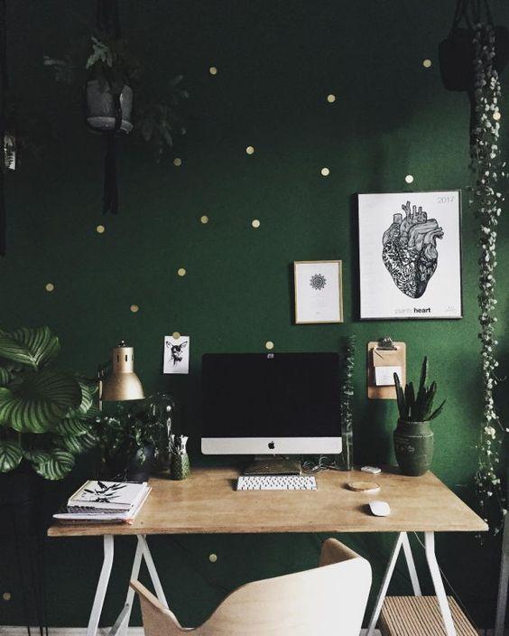 Idées Déco Et Couleurs Tendance Pour Un Espace De Travail