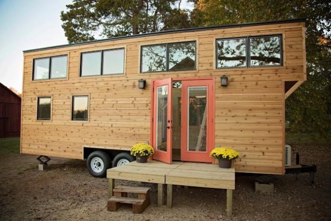 mini maison bois