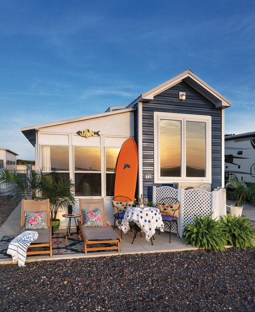 mini maison surf shack
