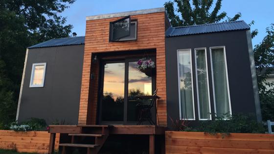 mini maison moderne