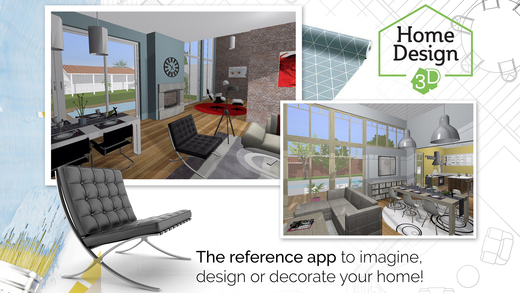 Screenshot de l'application de rénovation Home Design 3D