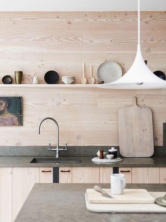 dosseret cuisine bois contreplaque