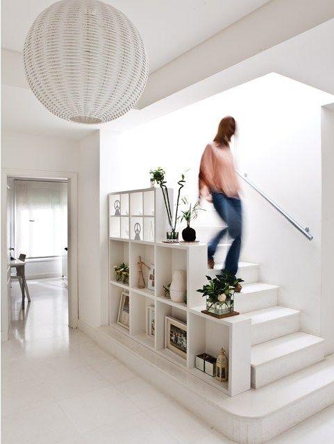 rampe escalier bibliotheque