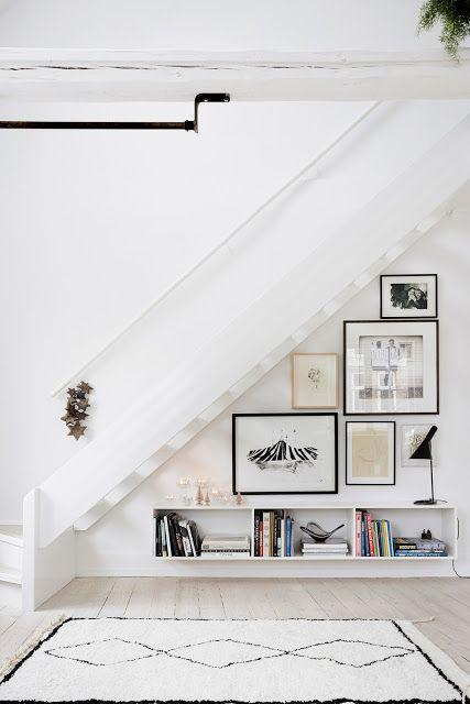 cadres descente escalier