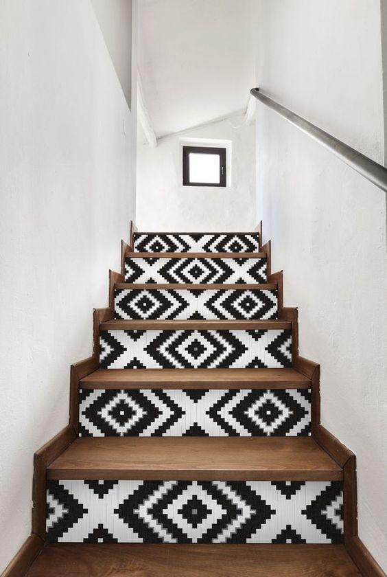 Déco escalier : rajeunir sans trop investir !