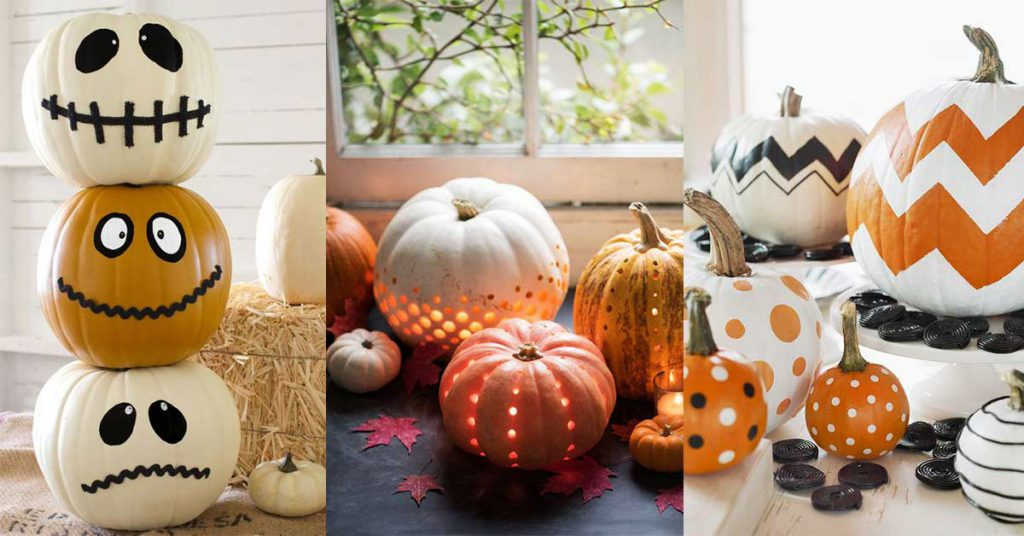 Citrouille DIY d'Halloween