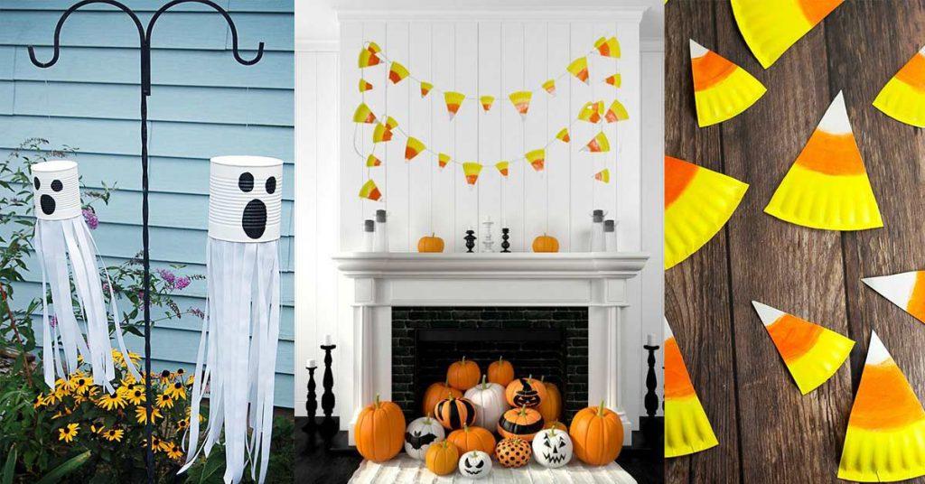 Projet DIY Halloween décorations