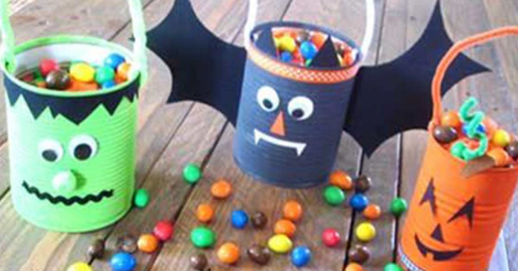 distributrice bonbons DIY Halloween