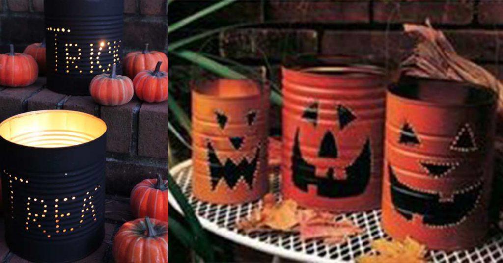 Projet lanternes DIY d'Halloween