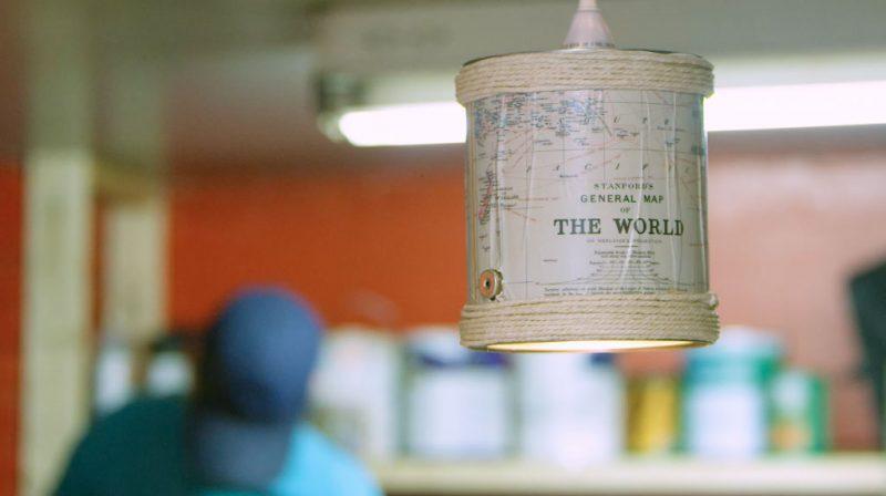 TRUCS BRICO : créer un luminaire rustique avec contenant de peinture
