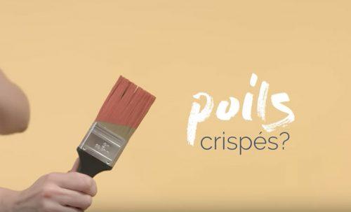 TRUCS PINCEAU – Poils crispés
