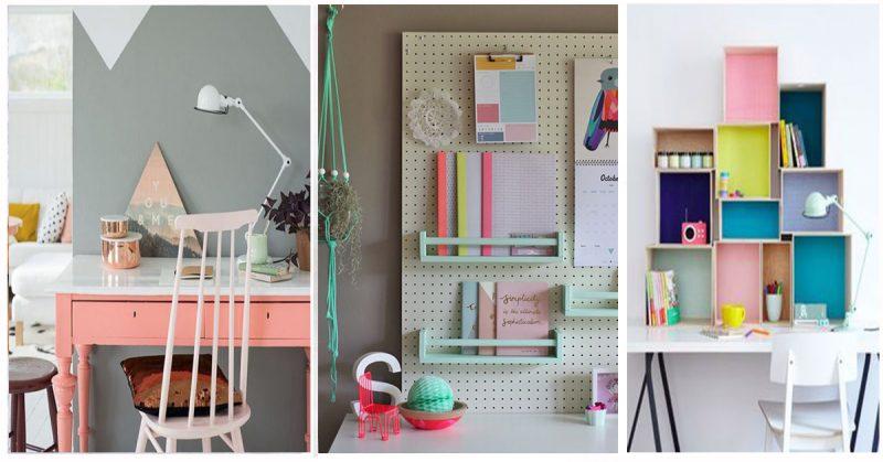 Aménager un coin bureau pour fille : des idées pour vous inspirer