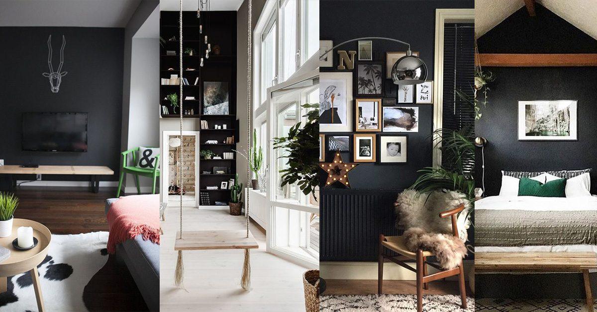 Osez la peinture noire : 5 façons de l'utiliser