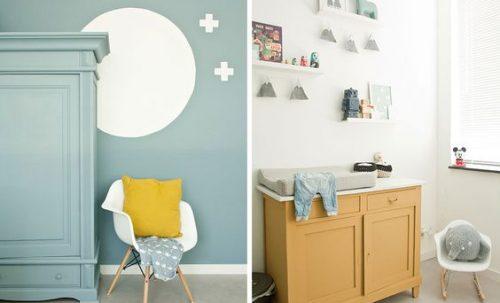 6 inspirations pour trouver LA couleur pour la déco de chambre de bébé garçon
